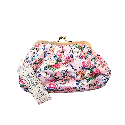 The Vintage Cosmetic Company   Cosmetic Clutch Bag   For Make-up, Tools, Toiletries  