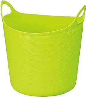 TIANLONG Storage basket Dirty Hamper Storage Basket Household Plastic Toy Clothing Storage Bathroom Living Room Bedroom  Color Green