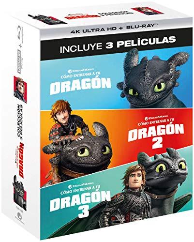 Pack 1 - 3: Cómo Entrenar A Tu Dragón (4K UHD + BD) [Blu-ray]