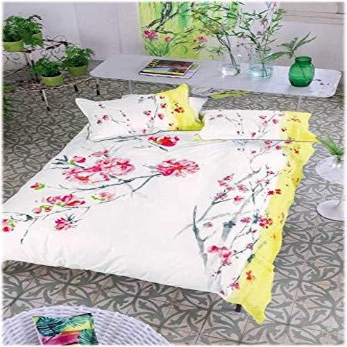 Designers Guild.- Funda nordica Oriental Flower 260x240 cms + 2 Fundas de Almohada