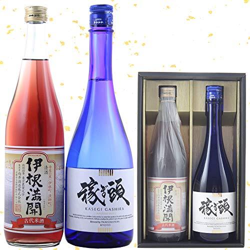 ギフト 京都 日本酒 飲み比べ セット 月の桂 稼ぎ頭 伊根満開 720ml×2本