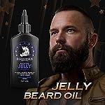 Bossman Beard Oil Jelly (4oz) - Beard Growth Softener, Moisturizer Lotion Gel with Natural Ingredients - Beard Growing… 4