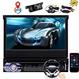 EINCAR Single 1 Din Car GPS Navigation DVD CD Player Capacitive Touchscreen GPS Navigation Car Stereo 7 inch...