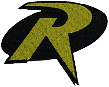 C&D Visionary Application DC Comics Batman Robin Logo Patch