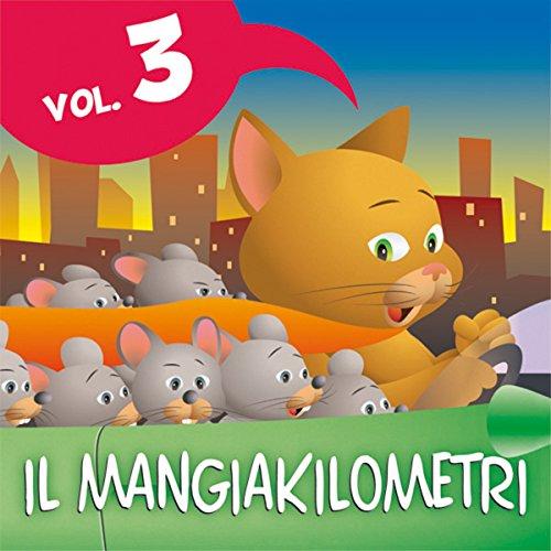 Le fiabe del Mangiakilometri Vol.3 copertina