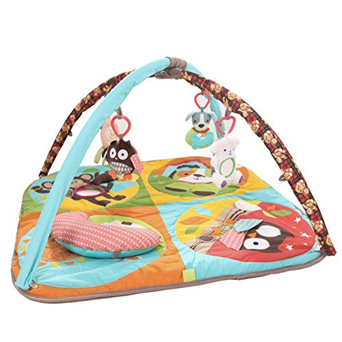 Dybory Baby Play Padded Gym Cushion, Cartoon Animals Children Soft Carpet Kids Girls Playmat, Carpet Play Mat Kids Educational Toy for New-Borns