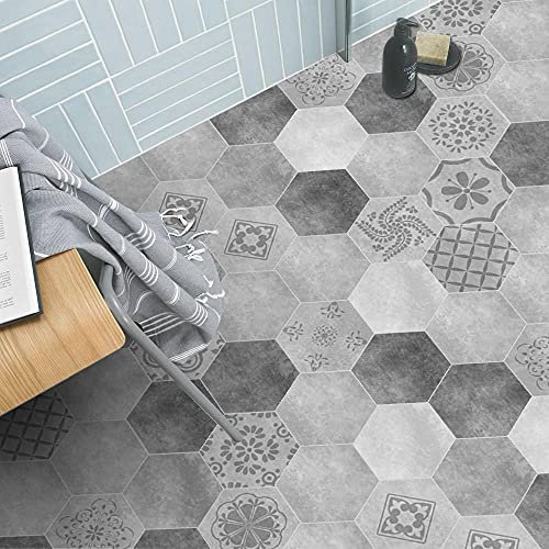Pegatinas de suelo, pegatinas de pared, pelables, autoadhesivas, extraíbles, ecológicas, de PVC, fáciles de limpiar, cocina y baño