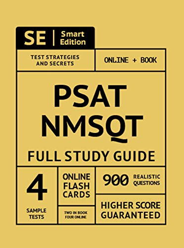 PSAT/NMSQT Full Study Guide: Complete Subject Review with Online Video Lessons, 4 Full Practice Test