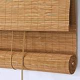 SJMFGF Cortina de bambú Persianas de bambú, Barniz Impermeable, Balcón Pabellón Gazebo Partición Cortina Decorativa, Cortina Colgante al Aire Libre, Se Puede Personalizar (Size : 100X180CM/39X71IN)