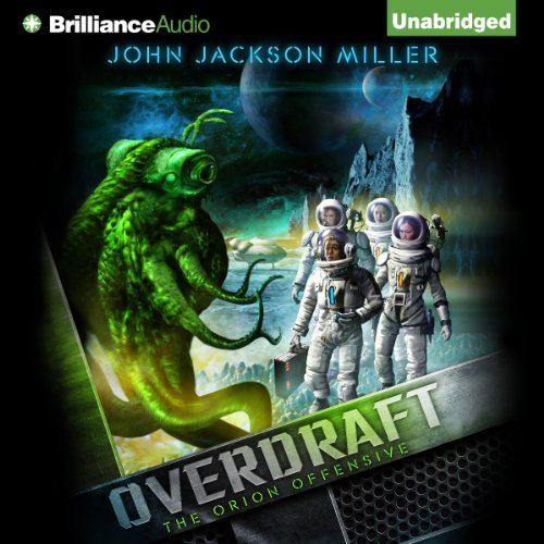 Overdraft audiobook cover art
