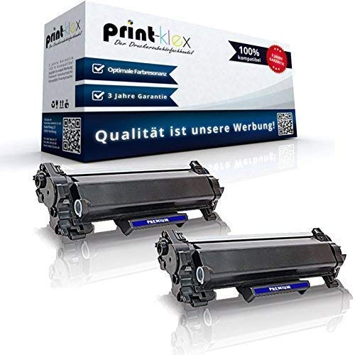 2x Kompatible Tonerkartuschen für Brother MFC-L 2710 DN MFC-L 2710 DW MFC-L 2712 DN MFC-L 2712 DW TN 2420 TN-2420 TN2420 Black Schwarz - Office Print Serie
