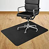 2020 New Office Chair Mat, 36' x 48' Office Desk Chair Mat for Hardwood Floor, Multi-Purpose Rectangular Non-Toxic Plastic Protector Chair Carpet for Rolling Chair & Computer Desk
