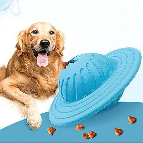 Pet Undichte Biss Spielzeug Multi-Funktions-Rollen-Nahrungsmittelkugel Puzzle Device Tools Für Kleine Große Hunde Füttern Enthält Eine Milch Fragrance