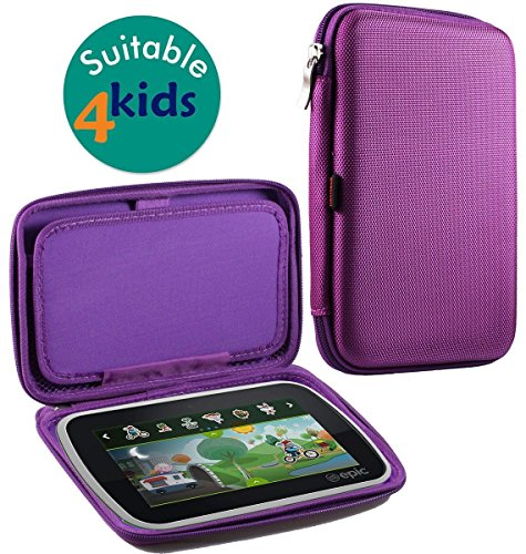 Navitech Hard Purple Eva Case Cover For Acer Iconia One 7 B1-780