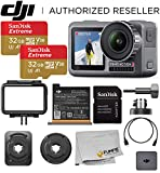 DJI Osmo Action 4K HDR Waterproof Camera Beginners Bundle - with Free...