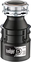 InSinkErator Garbage Disposal, Badger 5, 1/2 HP Continuous Feed