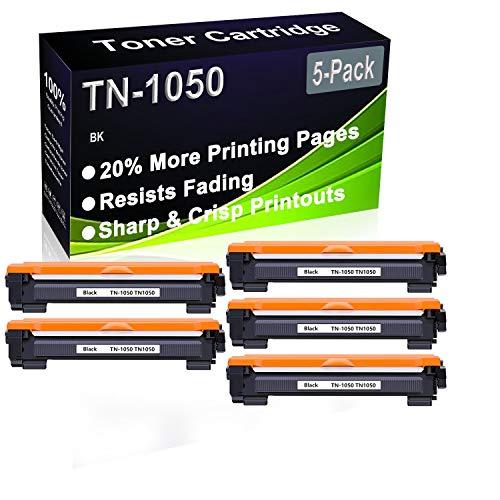 Cartuchos de tóner para impresora Brother HL-1112 HL-1110 HL-1210W HL-1212W DCP-1610 W DCP-1610W DCP-1610W DCP-1512 DCP-1612W DCP-1510W DCP-1612W DCP-1510 (5 unidades)