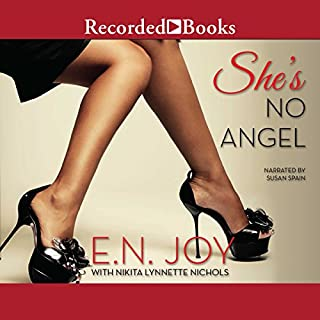 She's No Angel audiobook cover art