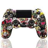 LVHI Mando Inalámbrico para PS4, Mando para Playstation 4/PS4 Pro/PS4 Slim, Controlador Inalámbrico, Gamepad Wireless Bluetooth Controlador Joystick, Textura Antideslizante (Color : Cartoon)