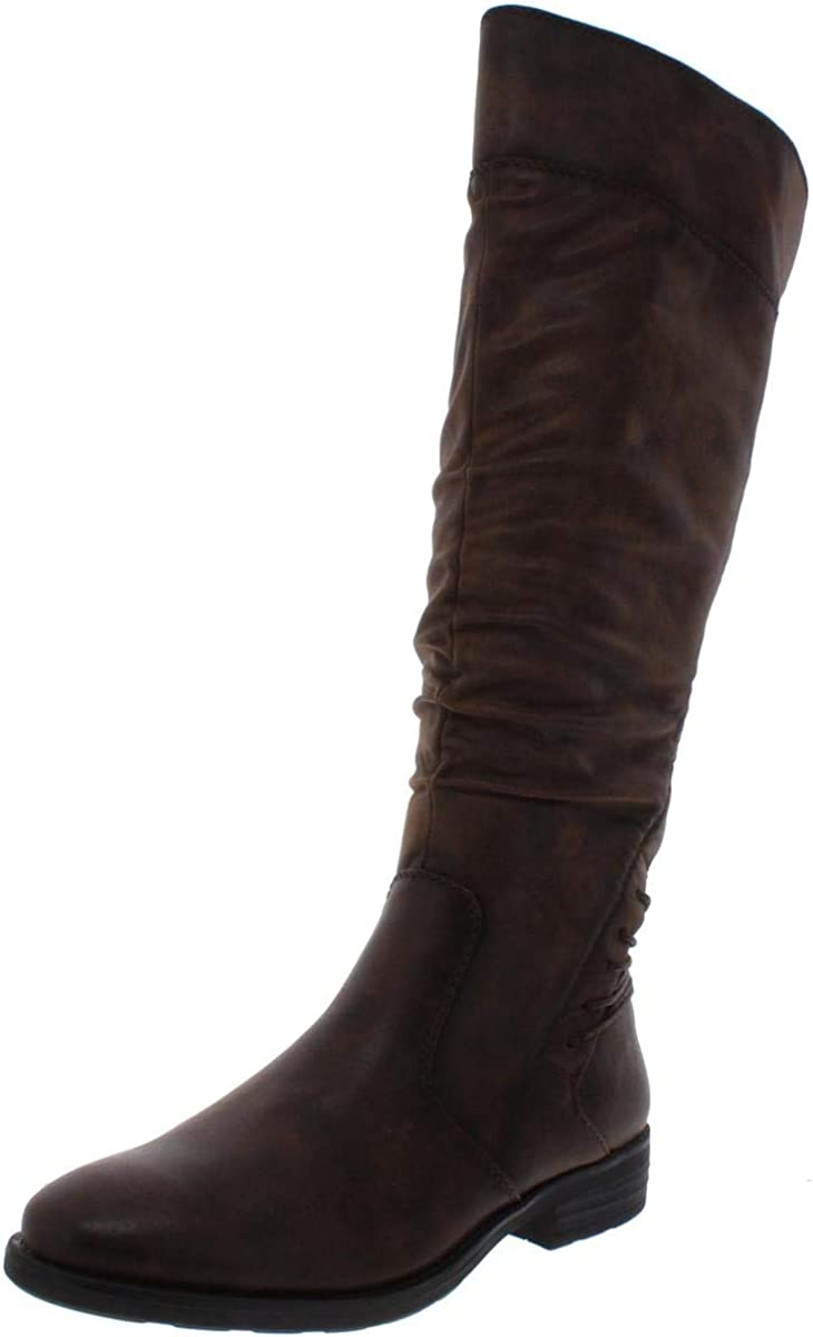 BareTraps Womens Averil Faux Leather Gifts High NEW Knee Riding Boots