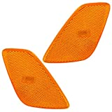 Driver and Passenger Park Signal Side Marker Lights Lamps Replacement for Jeep 55155629AC 55155628AC
