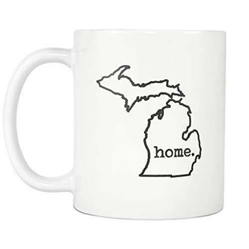 State Of Michigan Coffee Mug Amazon Com