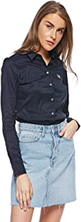 Tommy Hilfiger Shirts For Women, Midnight Blue L