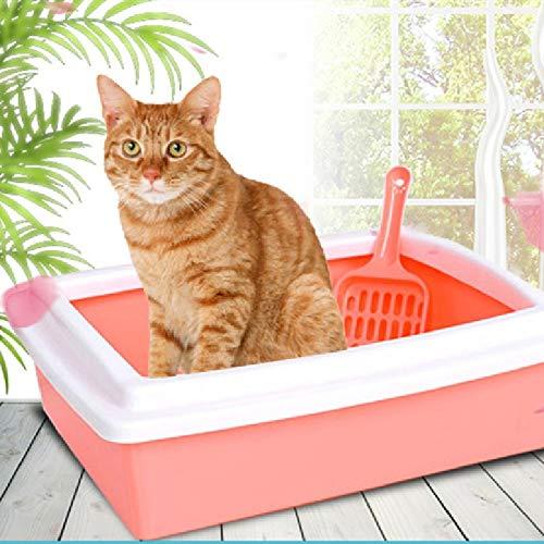 Toilette per gatti Supporto per gatti Cacca per animali Scatola per lettiera in plastica Vaschetta letti in plastica Ripieno per Cerrado Levigatrice per gatti Vaschetta per gatti Bacino per gatti