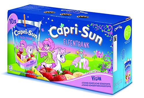 Capri Sun Mixpaket 50 x 200ml Packung (je 10x Kirsche, Cola Mix, Multivitamin, Orange & Elfentrank [Banane, Apfel, Zitrone & Erdbeere]