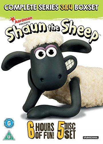 Shaun The Sheep: Complete Series 3 And 4 (5 Dvd) [Edizione: Regno Unito] [Reino Unido]