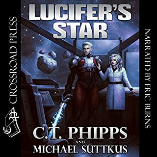 Lucifer's Star audiobook cover art