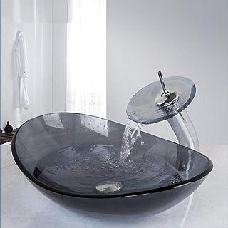 Amazon.fr : vasque verre gris