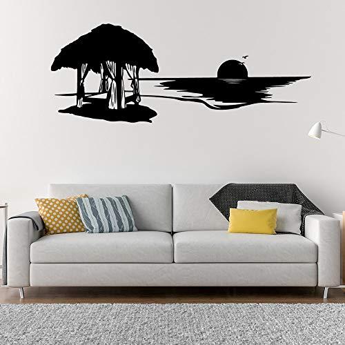 Amanecer Etiqueta de la Pared Decoración del hogar Etiqueta de la Pared Etiqueta de la Pared Accesorios de decoración Mural 90cm X 34cm