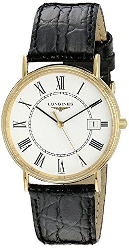 Longines LNG47202112 La Grande Classique Presence Reloj con Esfera Blanca para Hombre