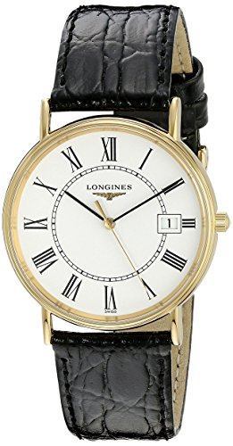 Longines Reloj de Hombre LNG47202112 La Grande Classique Presence Esfera Blanca