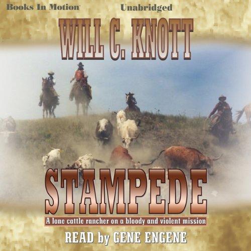 Stampede audiobook cover art