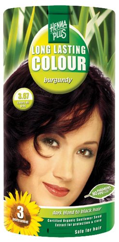 Henna Plus Long Lasting Colour 3.67, 100ml, Burgundy
