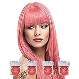 4 x La Riche Directions Semi-Permanent Hair Colour Dye Box Of...