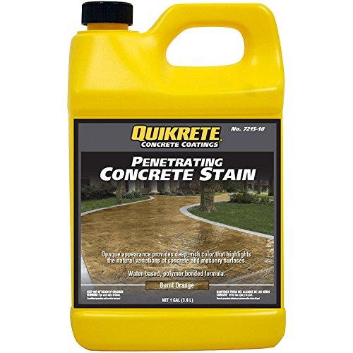 Quikrete Penetrating Concrete Burnt Orange gal