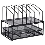 Amazon Basics Mesh Seven Slot File Organizer