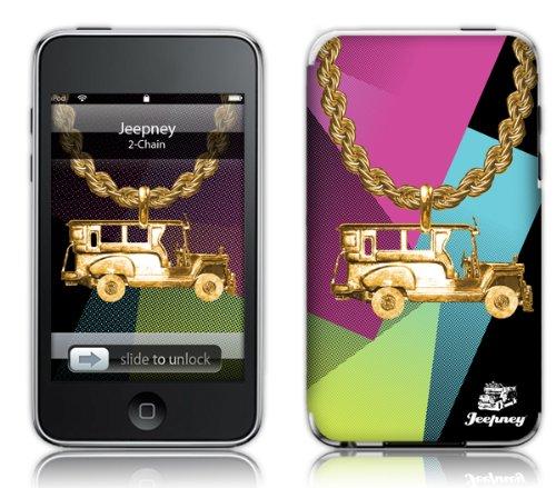 MusicSkins Design-Schutzfolie (für Apple iPod Touch 2/3, Jeepney-Bling Jeep-Motiv)