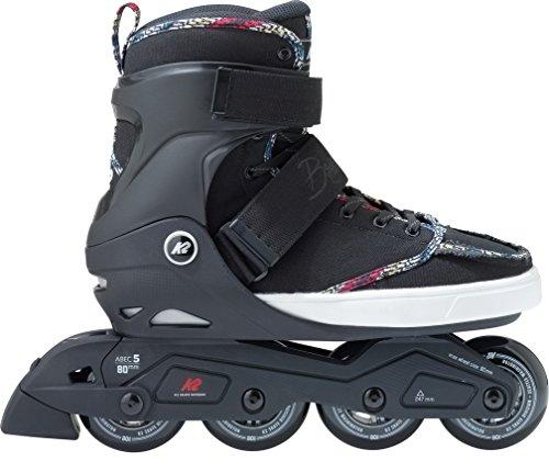 K2 Erwachsene Inline Skates Broadway - Schwarz - EU: 44 (US: 10.5 - UK: 9.5) - 30B0023.1.1.105
