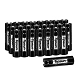 Tipsun AA Lithium Batteries, Longer Lasting Energy Double A Battery, 2900mAh Lithium Cells 24 Pack