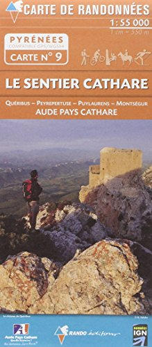 09 LE SENTIER CATHARE 1/55.000