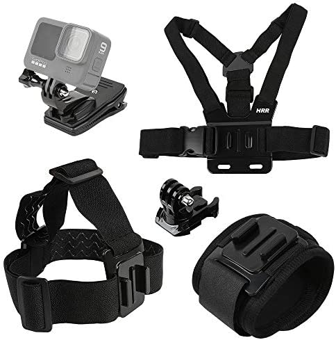 Accessories Set for GoPro Hero 9 8 7 6 5 4 New Quick Release Head Strap Mount Chest Mount Harness product image