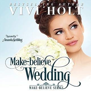 Make-Believe Wedding audiobook cover art