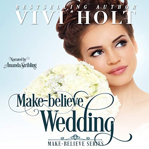 Make-Believe Wedding audiobook cover art