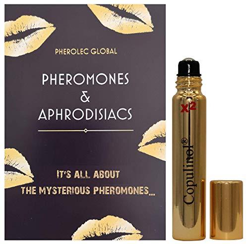 COPULINOL X2 100{b1c94e6ee9b2d730ac3fb71c6141100dc8053fa26d67c9d8fe7d2de838580833} Pheromon für Frauen 8ml Roll-On Menschliche Pheromone Geschenk für sie anziehen Männer Aphrodisiaka Moleküle extra stark