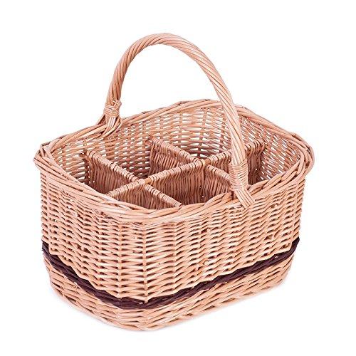 Botella cesta, cesta, cesta de transporte, botellas soporte, vino cesta, cesta de cerveza