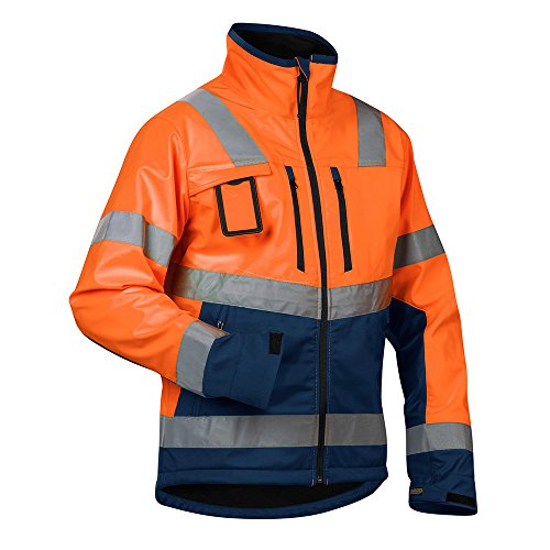 Blåkläder Workwear 67-49002517-5389-3XL Warnschutz Softshelljacke 4900